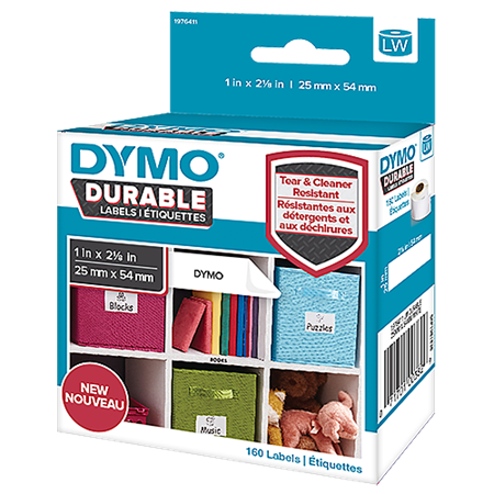 Universaletikett Dymo LabelWriter Durable 19x64 mm