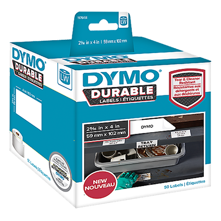 Fraktetikett Dymo LabelWriter Durable 59x102 mm