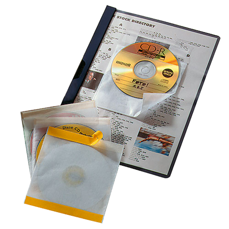 Cd/dvd-ficka Durable Cd-Fix 10/fp