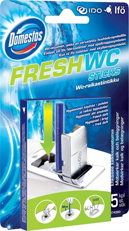 WC-Sticks Domestos Fresh 5-pack